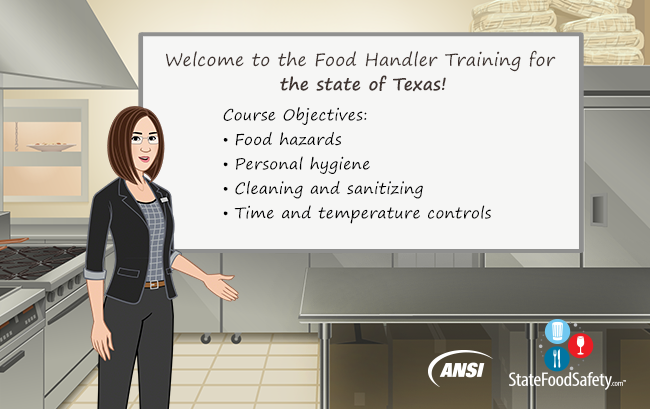 Texas Food Handlers Card License Statefoodsafety Com