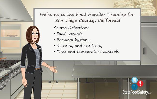 San Diego County Food Handlers Card   StateFoodSafety.com