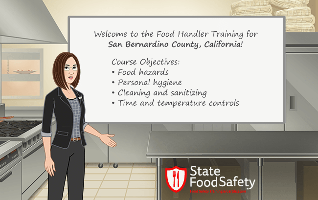 San Bernardino Ca Food Handlers Card Statefoodsafety